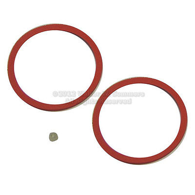 Victor No.2 Reproducer Rubber Diaphragm Gaskets+Beeswax
