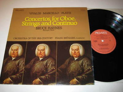 Lp/bruce Haynes/concertos For Oboe, Strings And Continu