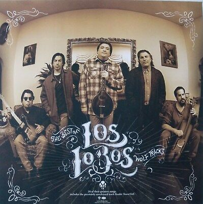 "LOS LOBOS ""THE BEST"" POSTER-80's EAST L.A. LATIN ROCK,"