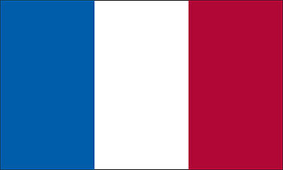 2x3 FT 2 x 3 FT SEWN FRENCH FRANCE SolarMax Nylon Flag