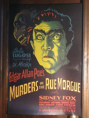 """Murders in the Rue Morgue 24""""x36"""" 1932 Movie Poster"""