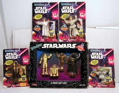 Star Wars Bend-Ems Collection of 8 Figures-MOC/MIB