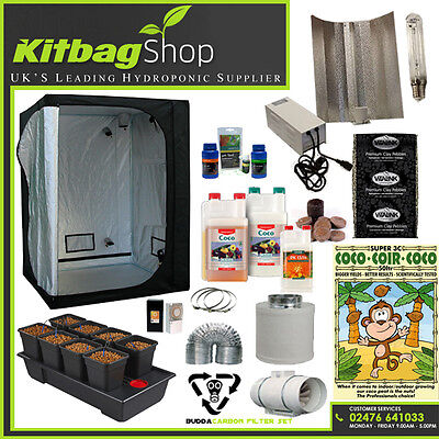 Complete Hydroponics Grow Tent Kit Full Set Up