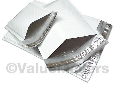 """400 Poly #1 7.25""""x12"""" AJVM Bubble Mailers Padded Envelopes Bags 100 % Recyclable"""