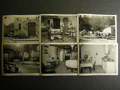 1958 Day Of The Bad Men CANDID SET 6 PHOTO Lot 190h