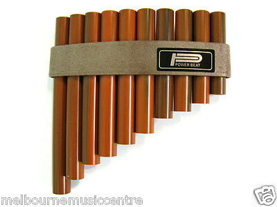 PAN FLUTE / PANPIPES 10 Hole Synthetic WoodLooking Pipes *Tunable Diatonic* NEW!