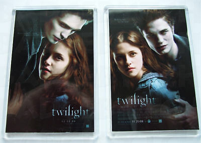 Twilight Pair Of Movie Poster Fridge Magnets