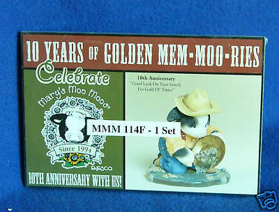 Mary's Moo Moos 10th Anniversary Postcards-Store Promo
