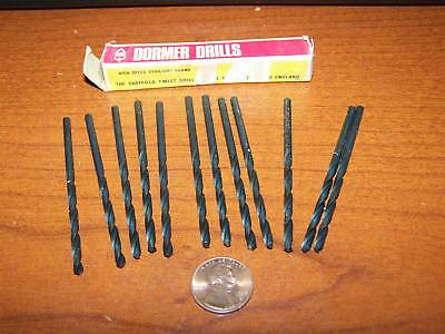 Dormer HSS No 31 wire size 12 pieces drill bits new