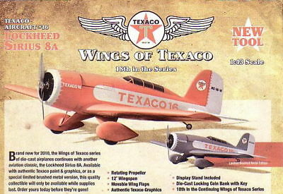 2010 Wings Of Texaco Lockheed Airplane #18 Regular  Mint In A Mint  Box