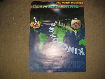 2003 World Jamboree It's A Small World poster      kp