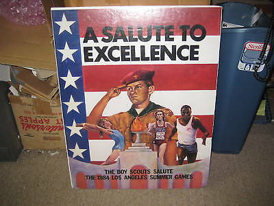 1984 Los Angeles Olympic Games Boy Scout poster      kp