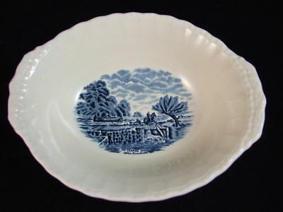 """GRINDLEY Scenes After Constable OVAL VEGETABLE BOWL 10"""""""