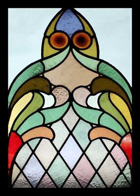Stained Glass Window Fabulous English Antique Church Rondels
