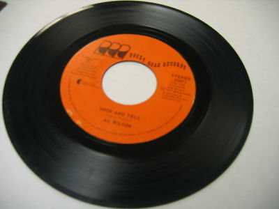 Al Wilson Show And Tell/Listen To Me 45RPM  Rocky Road