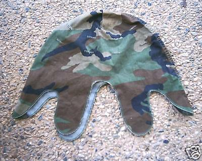 CAMO HELMET COVER US STEEL POT M1 70-80's  buy it now