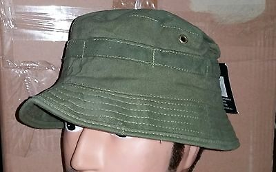 Bush Hat Olive Green - Australian Army Vietnam Reproduction   Small