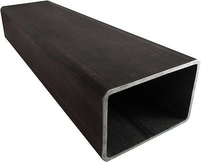 Mild Steel rectangle section 100mm x 60mm x 3.5mm x 2.5 mtr