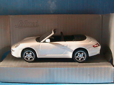 Porsche 911 Carrera S Cabriolet Weiss Schuco Junior New