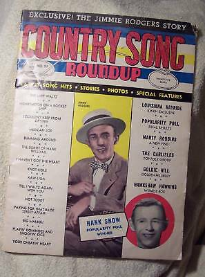 Country Song Roundup August 1983 Hank Snow Carlisles