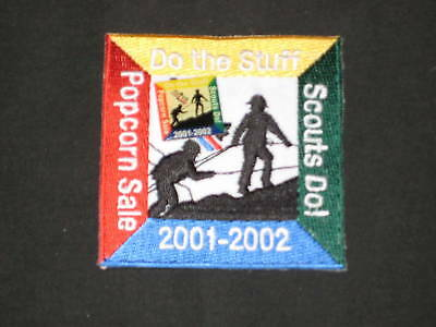 Trails End Popcorn 2001-02 patch and pin             c1