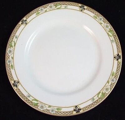 """7 J&G Meakin PACIFIC 10"""" DINNER PLATES for one price Crazing, Light Wear"""