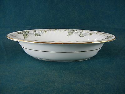 """Minton Greenwich Pattern S705 Oval 10 1/4"""" Vegetable Serving Bowl"""