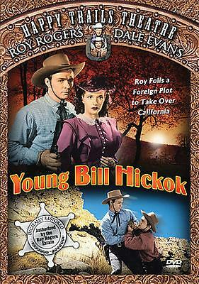 YOUNG BILL HICKOK - ROY ROGERS & DALE EVANS - NEW DVD