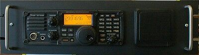RACK MOUNT 4 ICOM IC 7200 & PS-126 SPACE WITH SPEAKER