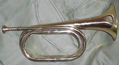 *** Military Brass Bugle - New Made Mint Condition ***