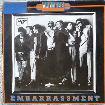 "7"" 1980 KULT ! MADNESS : Embarrassment // VG+ \"