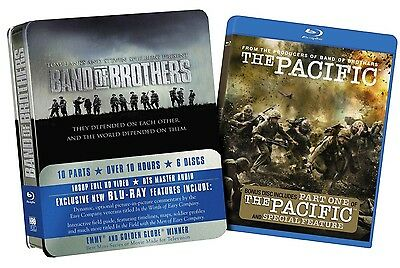 Band of Brothers with The Pacific Part One [Blu-ray] *Brand New Sealed*