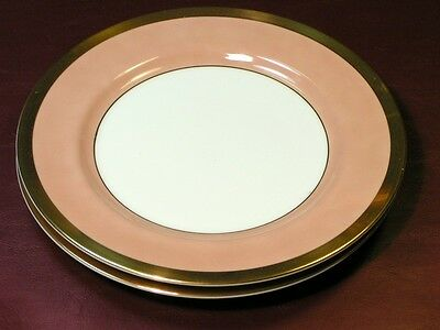 Versailles Dusty Rose by Fitz & Floyd LOT 2 SALAD PLATE