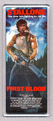 RAMBO FIRST BLOOD large movie poster fridge magnet