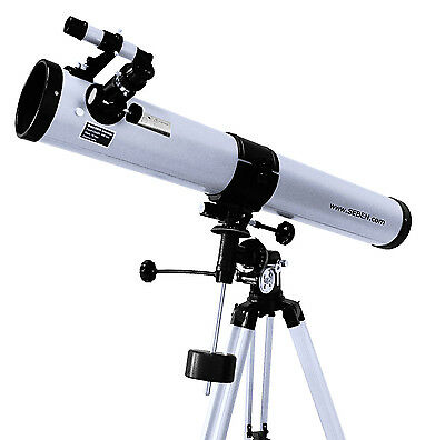 Seben 900-76 Reflector Telescope with many accessories