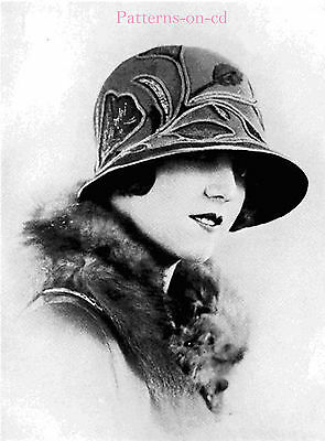 Flapper Milliner Millinery hat making patterns manual