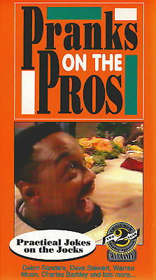 PRANKS ON PROS VHS Deion Sanders Charles Barkley Warren Moon Sports vtg 80s 90s