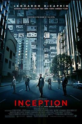 INCEPTION movie poster LARGE FRIDGE MAGNET- DiCAPRIO