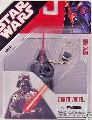 Star Wars DARTH VADER Keychain Keyring Dark Force Empire Retired Lucas S1 NEW