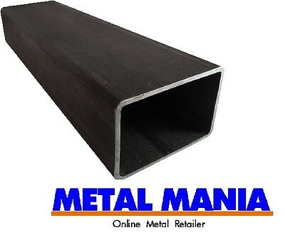 Mild steel rectangle section 100mm x 60mm x 3.5mm x 3 mtr