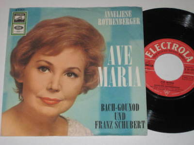 """7"""" Single/ANNELIESE ROTHENBERGER/AVE MARIA/electrola"""