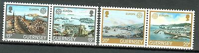 EUROPA CEPT - GUERNSEY 1983 Harbours