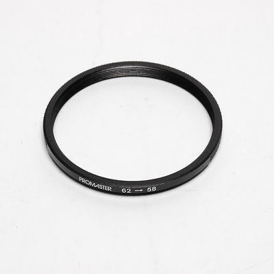 62 to 55mm Step-Down Ring