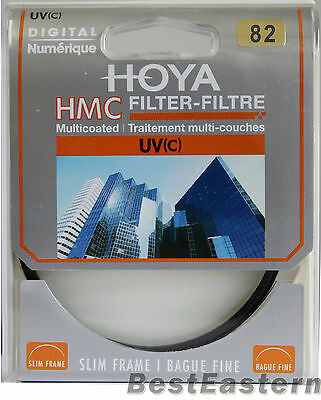 HOYA  82mm Slim HMC UV (C) Multi-Coated New lens Filter 82 mm