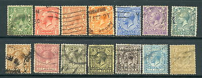 Great Britain SC#159-72 Used CV 87.95/