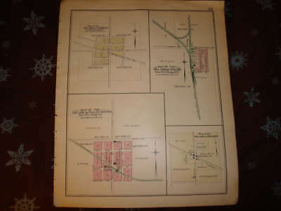 Fremont Palms Valley Center Sanilac County Michigan Map