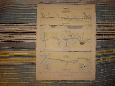 ANTIQUE SCOTLAND AMSTERDAM EGYPT SUEZ CANAL MAP SuperbN