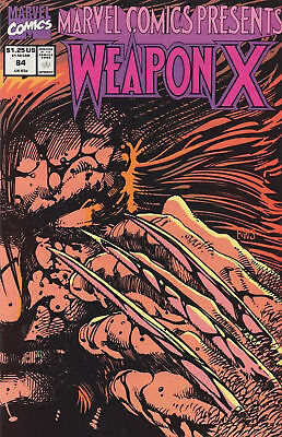 Marvel Comics Presents #84 - Weapon X Conclusion Comic