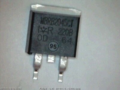 Diode Schottky IR MBRB2045CT 45V 20A SMD MBR2045