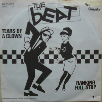 "7"" 1979 RARE ! THE BEAT : Tears Of A Clown // MINT-? \"